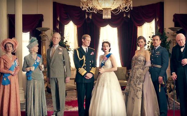 Resultado de imagem para the crown seriado