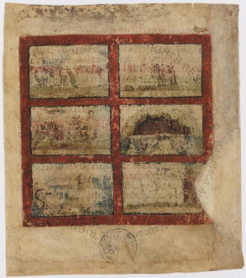 O manuscrito original de Eneida, escrito por Virgílio no século I a.C., está na Biblioteca do Vaticano. O livro foi digitalizado e está disponível online.