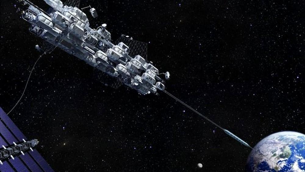 O projeto japonês pretende levar pessoas até a Estação Espacial Internacional, que está localizada a mais de 400 quilômetros, por um elevador no espaço.