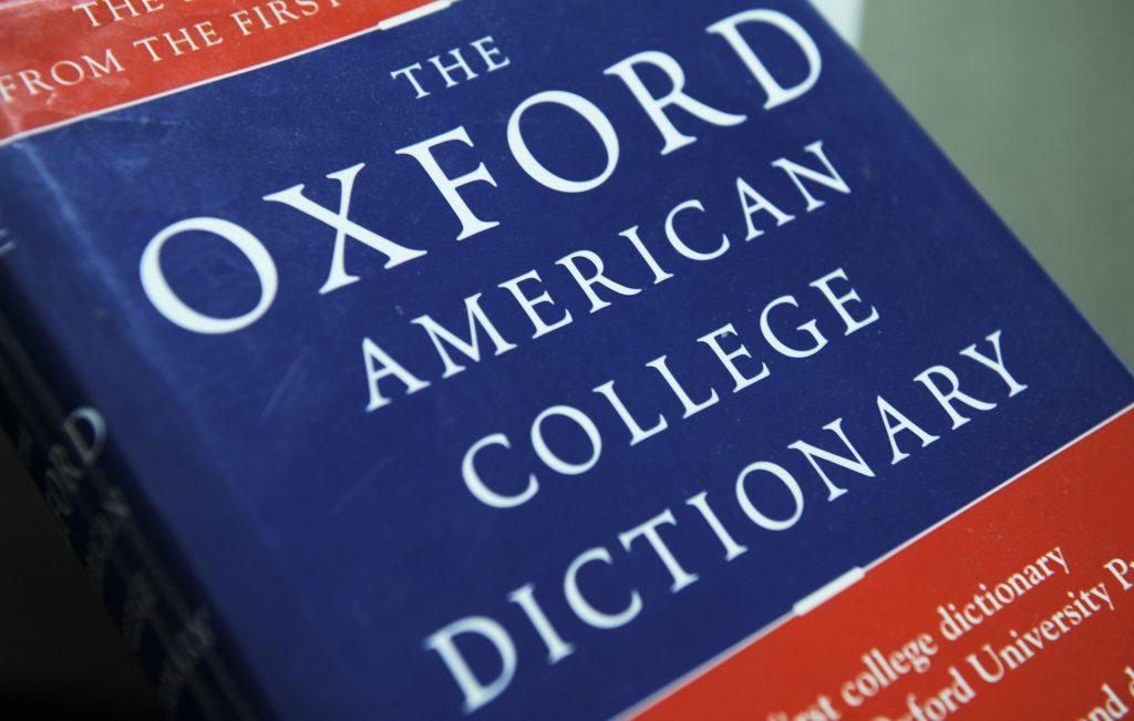 A escolha da palavra do ano, feita pelo dicionário Oxford, leva em consideração pesquisas feitas em seu dicionário online.