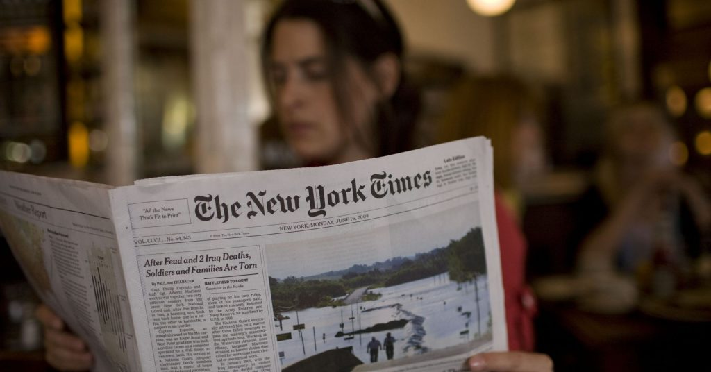 Muitas fotos do jornal são datadas do século XIX, e não existem em nenhum outro lugar. Por isso o The New York Times fechou parceria com o Google, que usará ferramentas para digitalizar as fotos antigas.