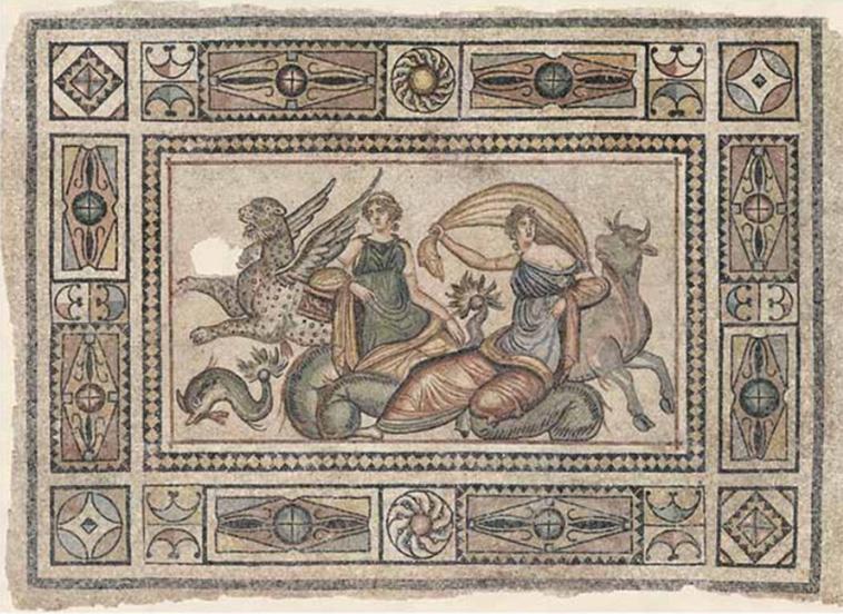 """A descoberta aconteceu em uma antiga cidade grega chamada Zeugma, na província de Gaziantep, no sudeste da Turquia. Os três mosaicos foram descobertos após escavações científicas em uma área que seria inundada para a construção de uma barragem. As imagens, com personagens da mitologia grega antiga, datadas do século II a.C., estão bem preservadas e com a """"aparência tão bonita e deslumbrante quanto no primeiro dia"""", segundo relato feito ao site The Mind Circle."""
